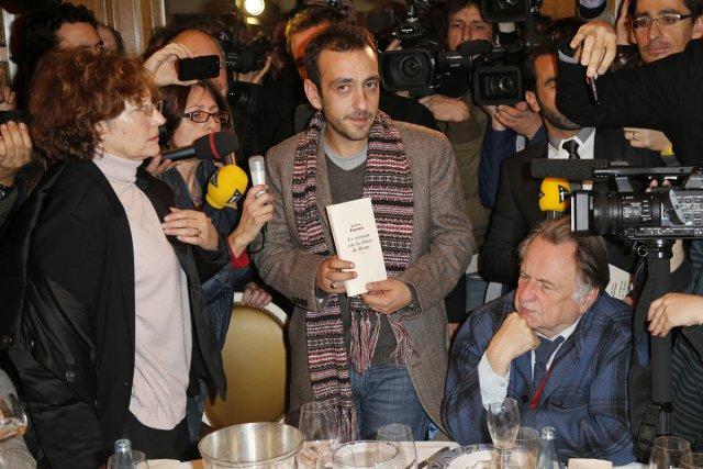 L'écrivain français Jérôme Ferrari est publié chez Actes... (Photo: Reuters)
