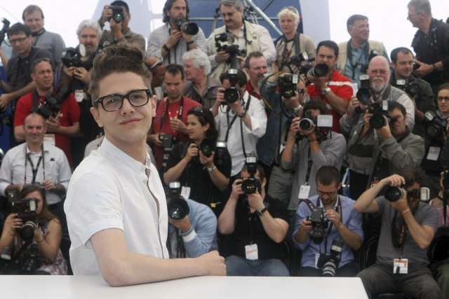 Xavier Dolan lors de son dernier passage au... (Photo: archives AP)