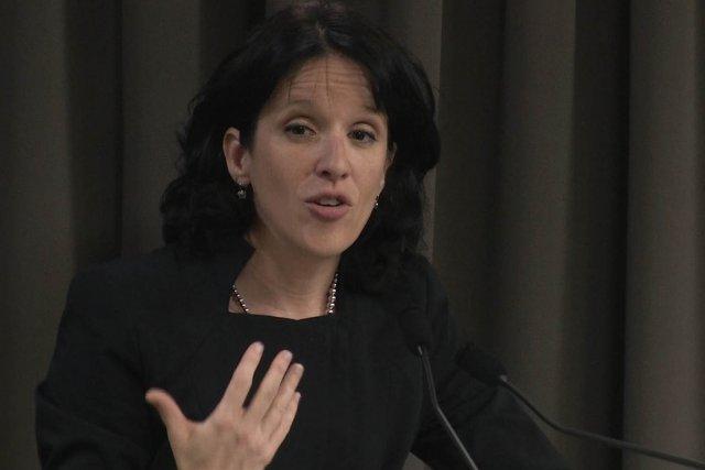 Sonia LeBel... (Image vidéo)