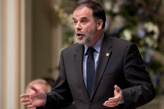 Le  ministre de l'Enseignement supérieur, Pierre Duchesne... (La Presse Canadienne)
