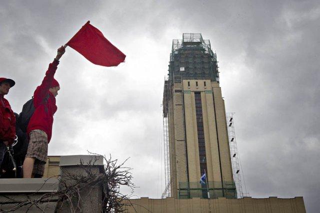 Les universités recevront une compensation moindre que celle qu'elles... (Photo: Patrick Sanfaçon, La Presse)