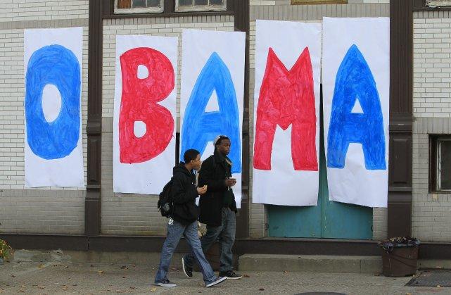 La réélection de Barack Obama prouve que les Américains délaissent peu à  peu... (Photo AP)