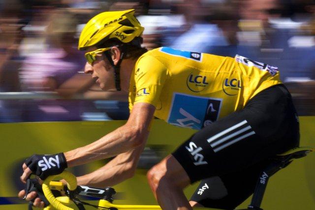 Le vainqueur du dernier Tour de France, Bradley... (Photo AFP)