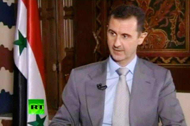 Bachar al-Assad va-t-il utiliser l'arme chimique?... (IMAGE AP)