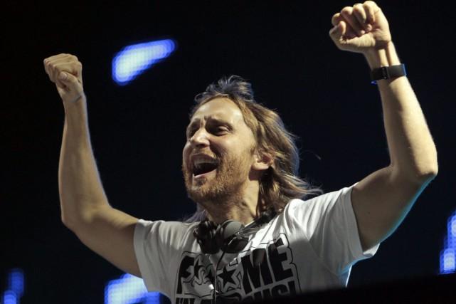 LE DJ David Guetta... (PHOTO ARCHIVES AP)