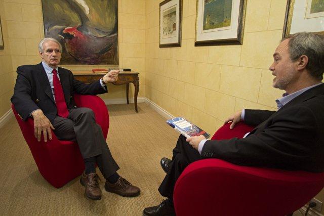 Gérard Bouchard et André Pratte... (Photo François Roy, La Presse)