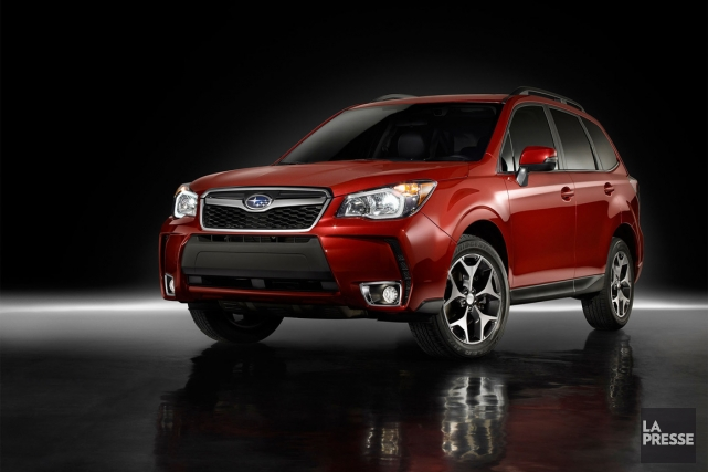 Le Subaru Forester 2014 sera au Salon de... (PHOTO FOURNIE PAR SUBARU)