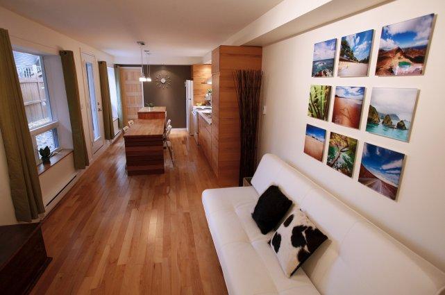 L'appartement de 750 pieds carrés mesure à peine... (Le Soleil, Yan Doublet)