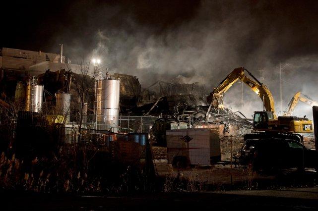 La cause de l'explosion meurtrière est toujours sous... (La Presse Canadienne)