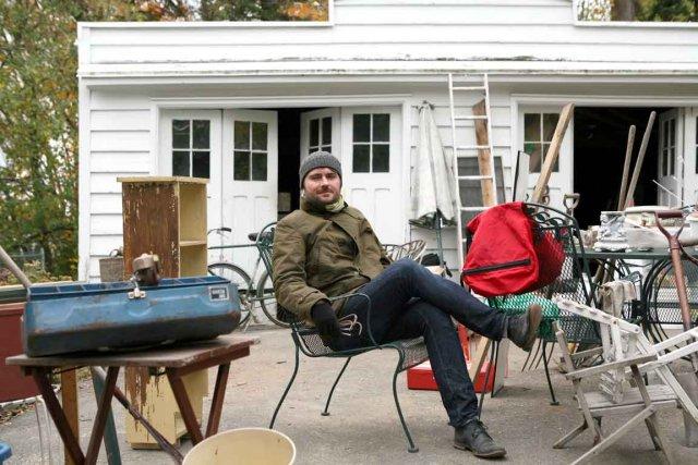 Sébastien Rose explore encore le thème de la... (Photo Métropole)