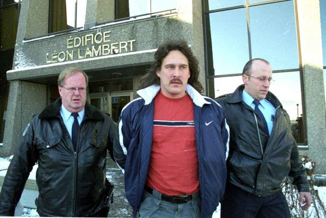 Frédéric Faucher, lors de son arrestation en 2000.... (Photothèque Le Soleil)