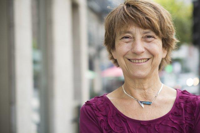 La chef de Québec solidaire, Françoise David, présentera... (Photo: Ninon Pednault, La Presse)