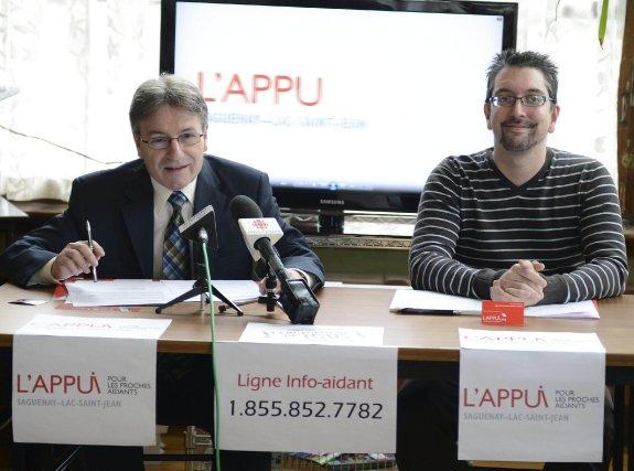 Le président de l'Appui pour les proches aidants... (Photo Jeannot Lévesque)