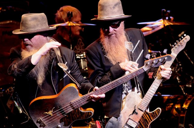 ZZ Top, composé de Billy Gibbons, de Dusty... (Étienne Ranger, LeDroit)