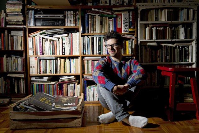 Simon Boulerice est un artiste singulier, à l'univers... (Photo: Alain Roberge, La Presse)