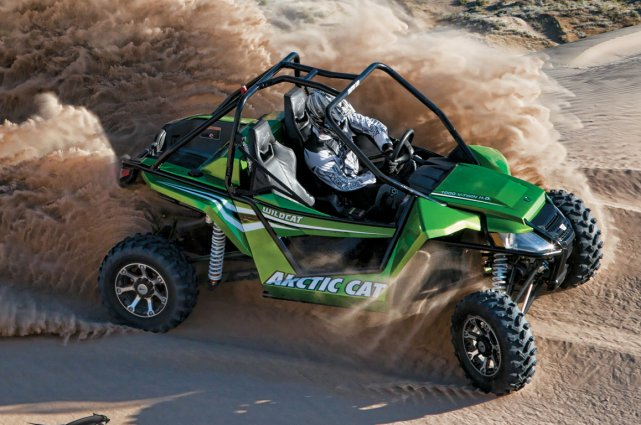 L'Arctic Cat Wildcat 1000.... (Photo fournie par Arctic Cat)