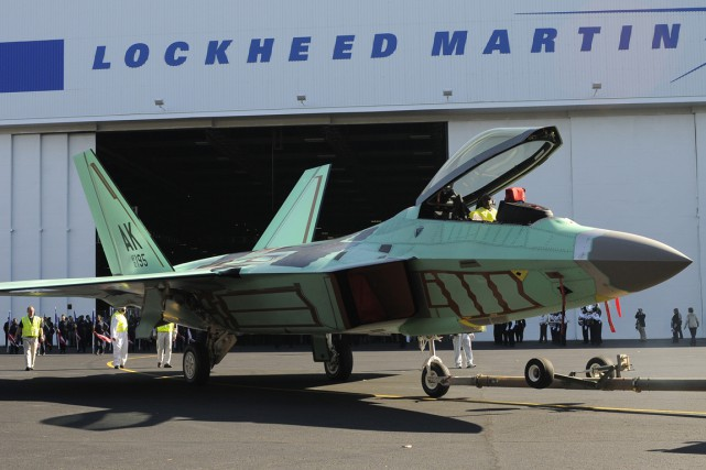 Lockheed Martin s'attend à ce que son chiffre... (PHOTO TAMI CHAPPELL, REUTERS)