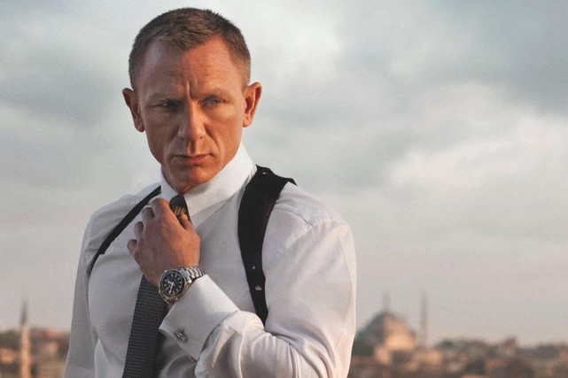 Daniel Craig dans Skyfall... (PHOTO FOURNIE PAR LA PRODUCTION)