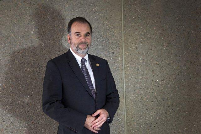 Pierre Duchesne, ministre de l'Enseignement supérieur, de la... (Photo: Ivanoh Demers, La Presse)