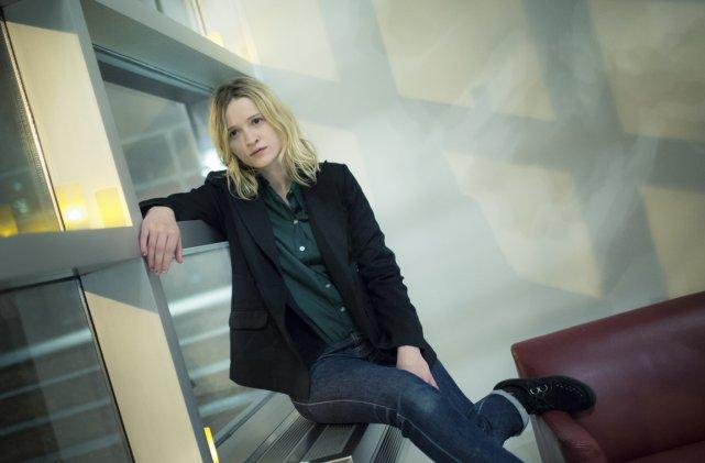 Christa Theret, actrice et réalisatrice... (Photo: Edouard Plante-Fréchette, La Presse)