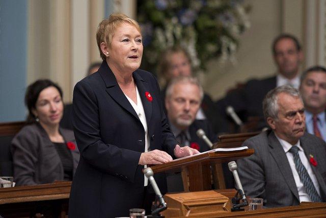 Pauline Marois... (Photo: archives Reuters)