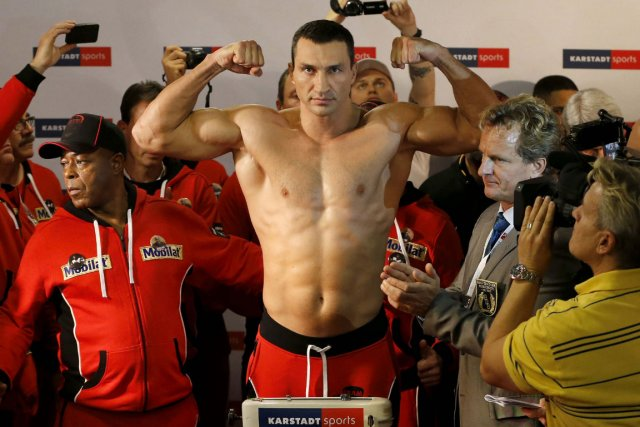 Vladimir Klitschko... (Photo Morris Mac Matzen, Reuters)