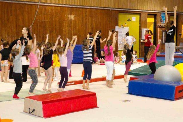 Une palestre de gymnastique de 8 5 m charlesbourg ian for Arpidrome charlesbourg piscine