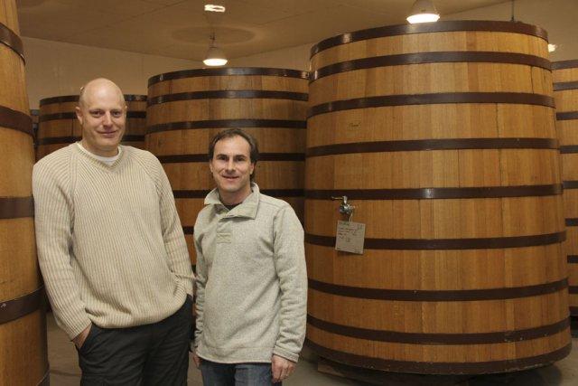 David Gare et Bertrand Deltour, propriétaires de la... (photo Alain Dion)