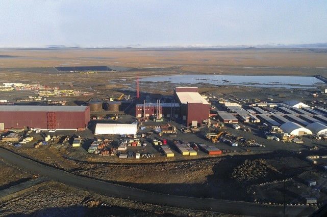 Le projet minier Nunavik Nickel de Canadian Royalties.... (PHOTO FOURNIE PAR CANADIAN ROYALTIES)
