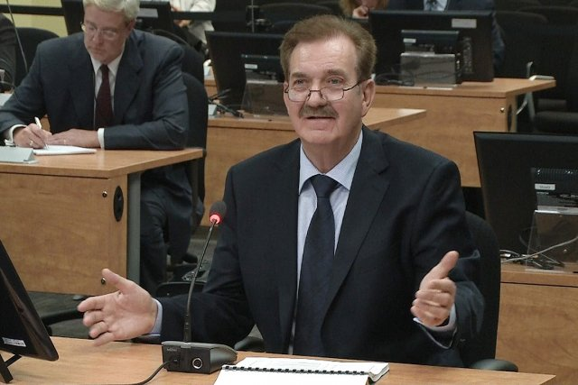 Luc Leclerc, ingénieur retraité de la Ville de... (Photo: tirée d'une vidéo)