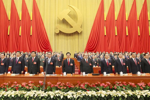 Le 18e congrès en cours doit mettre fin... (PHOTO AFP/AGENCE DE NOUVELLES XINHUA)