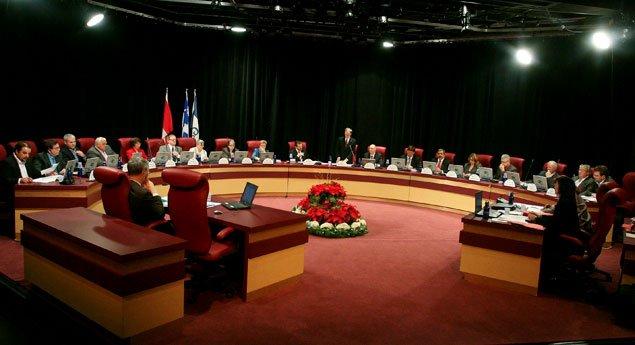 Le conseil municipal de Gatineau discute lundi matin d'une hausse de taxes de... (Archives, LeDroit)