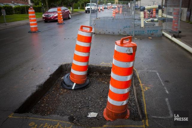 Montréal a beau investir des centaines de millions dans ses réseaux d'eau et de... (Photo: André Pichette, archives La Presse)