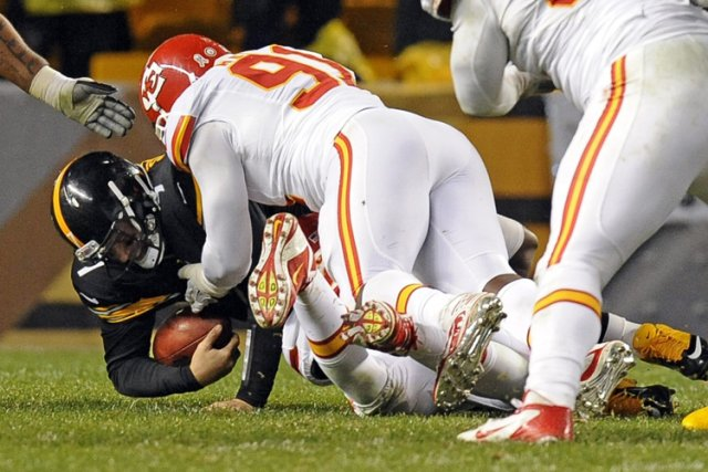 Le quart des Steelers Ben Roethlisberger a dû... (Photo: AP)