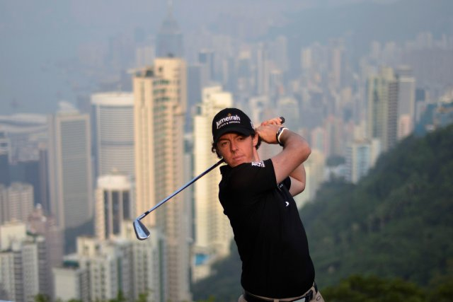 Rory McIlroy participera à l'Omnium de Hong Kong... (Photo: AFP)