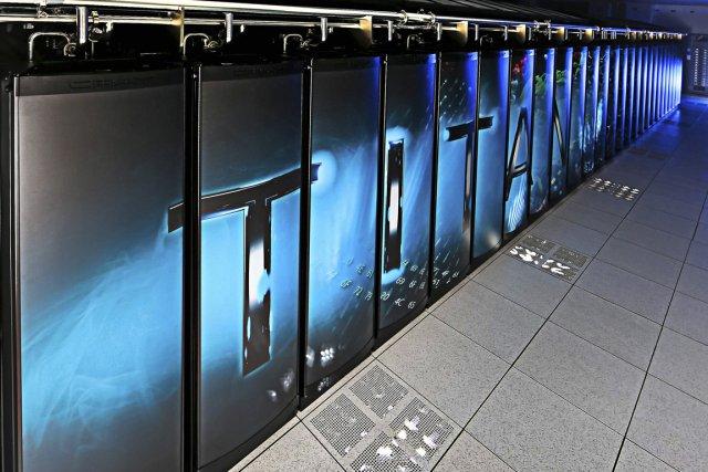 Titan, un superordinateur de la société américaine Cray, est devenu le plus... (Photo Reuters)