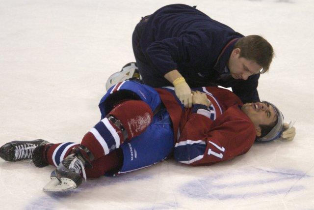 Mike Ribeiro avait feint d'être blessé sérieusement durant... (Photo: Bernard Brault, La Presse)