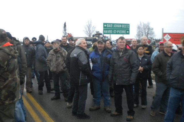Selon les organisateurs, environ 150 personnes ont pris... (Courtoisie AGAM)