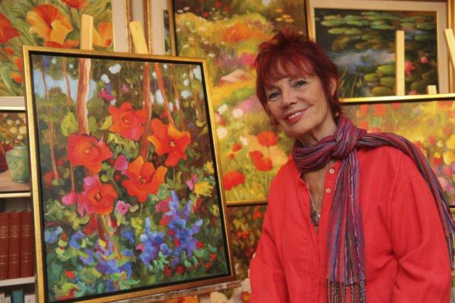 Michèle Kramer connaît une année qu'elle qualifie «d'exceptionnelle».... (photo Alain Dion)