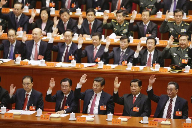 Le Parti communiste chinois a clos mercredi son... (PHOTO JASON LEE, REUTERS)