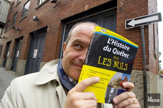 Éric Bédard: «Dans mon livre, c'est l'histoire d'un... (Photo: Alain Roberge, La Presse)