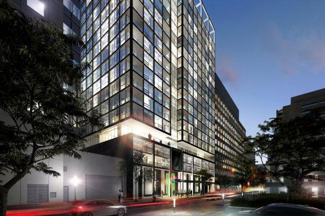 Un nouvel hôtel aura pignon sur rue au... (Image courtoisie)