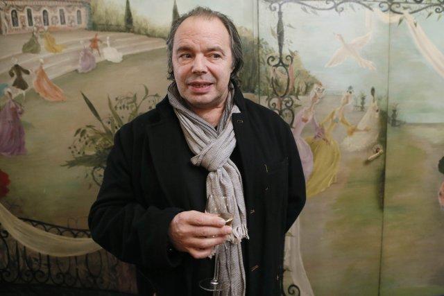 Philippe Djian a reçu, mercredi, à Paris, le... (Photo: AFP)