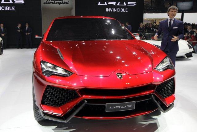 Lamborghini a présenté en avril un VUS concept,... (Photo: Reuters)
