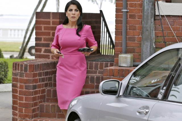 Jill Kelley a conduit par hasard le FBI... (PHOTO CHRIS O'MEARA, AP)