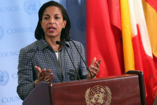 Susan Rice, actuelle ambassadrice américaine aux Nations unies.... (Photo: Reuters)