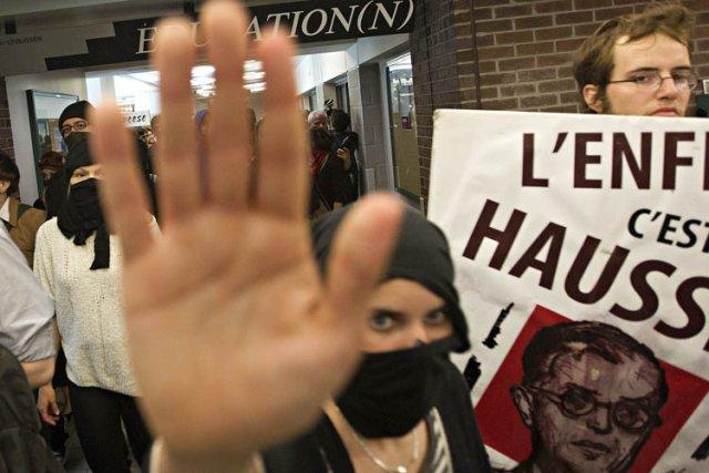 Les étudiants n'avaient pas le droit de grève... (Photo: Patrick Sanfaçon, La Presse)
