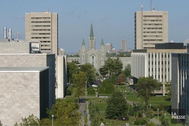 L'Université Laval, à Québec... (Le Soleil, Jocelyn Bernier)