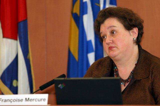 La péquiste Françoise Mercure remplace Jacques Langlois à... (Le Soleil, Martin Martel)