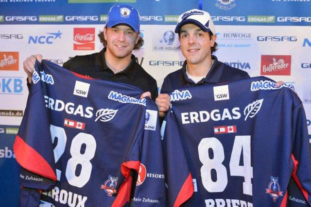 Claude Giroux et Daniel Brière ont confié leurs... (Courtoisie)